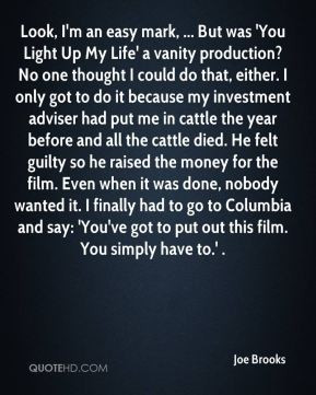 You Light Up My Life Quotes