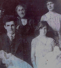 macgill family photo photograph of patrick macgill with his family the