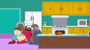 Chef's parents try to contain Kenny's soul. It ends up settling in a ...