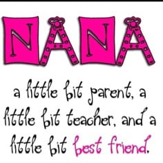 Top 10 things I love about being a Nana