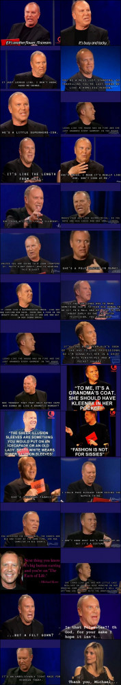 Michael Kors Quotes from Project Runway Seasons 1-10