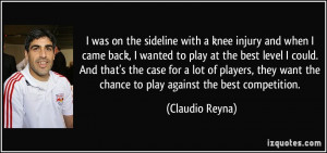 More Claudio Reyna Quotes