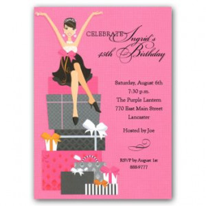 Free Quotes Pics on: Forty And Fabulous Birthday Invitations