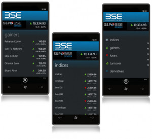 BSEIndia is now available on Windows Phone