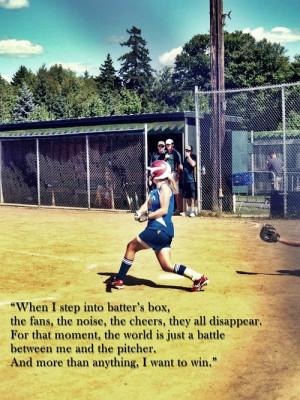 softball catcher sayings