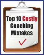 Top 10 Coach Mistakes