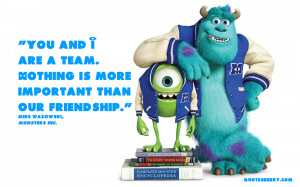 Monsters Inc Quotes Monsters inc funny quotes