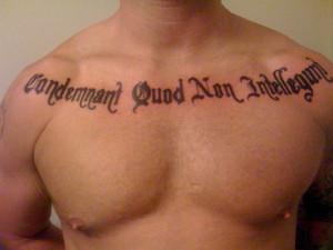 Inspirational Tattoos For Men