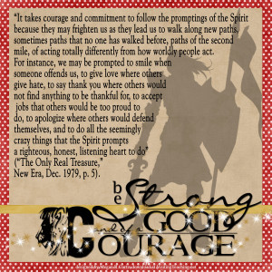 Treat Tuesday #35 – Good Courage!