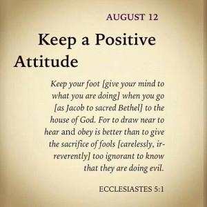 Attitudequote Positive