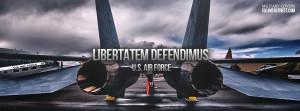 Libertatem Defendimus Air Force Facebook Cover