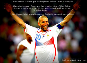 ... 2014 at 1024 × 746 in Best Quotes on France Legend Zinedine Zidane