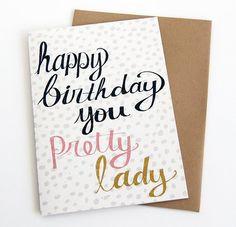 Birthday Card For Her - Mom Birthday Card - Girlfriend Birthday Card ...