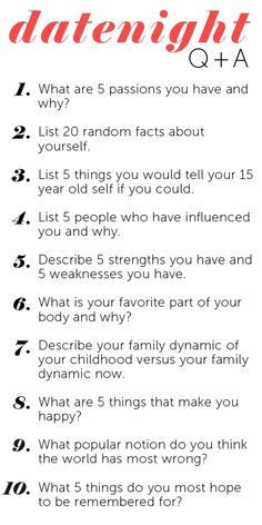 ... date night questions! Marriage relationship quotes | best stuff More