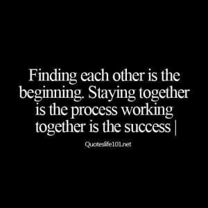 working together is the success