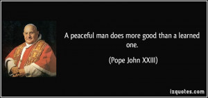 More Pope John XXIII Quotes