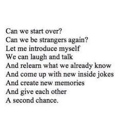 second chance quotes | Second chance. | Quotes about everything More