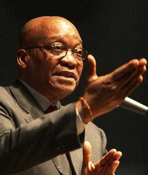 African National Congress President Jacob Zuma
