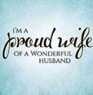 Husband Proud Wife Quotes: I'm a proud wife of a wonderful husband ...