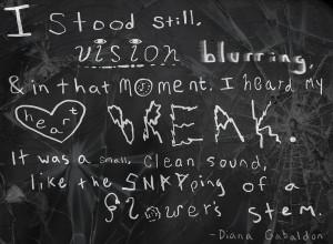 Heartbreak-Quote Art 1 by MaddyLion7