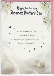 5th Wedding Anniversary Quotes Brother And Sister In Law