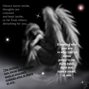 Poetry Sad angel