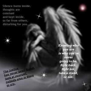 Poetry Sad angel