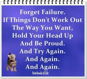Try, try, try again