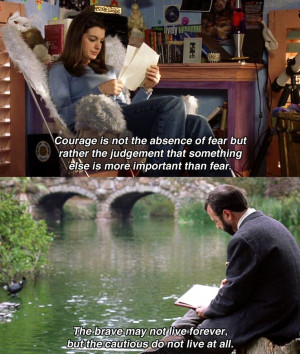 Disney's Princess Diaries Quote On Courage, Fear, & Bravery