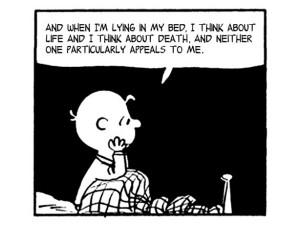 ... and the Peanuts Gang Spoke Only in Morrissey and The Smiths' Quotes