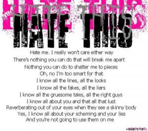 Hate me. I really won't care either way...