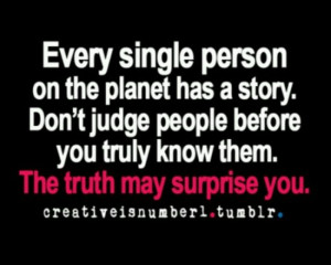 ... , People'S Quotes, People Quotes, Single Personalized, Don'T Judges
