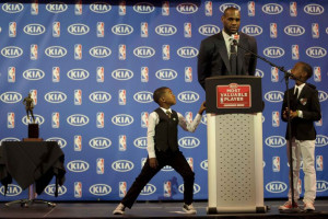 LeBron James wants colleges to stop recruiting his 10-year-old son