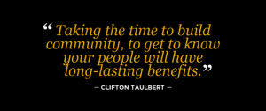 Quotes Building Community ~ sacredheartcommunity2012 | The Building of ...