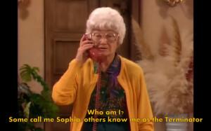 Sophia Petrillo Quotes...