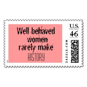 funny women quotes postage stamp joke humor stamps well behaved women ...