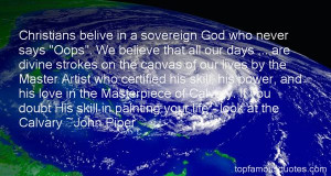 Top Quotes About Christian Calvary