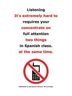 Listening.pdf No cell phones. No Warnings.
