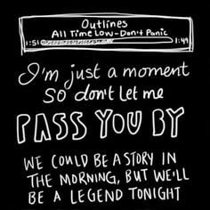 All Time Low Lyric Quotes