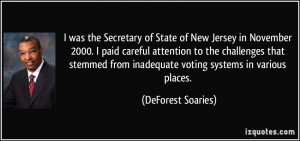 More DeForest Soaries Quotes