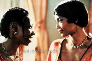 Celie and Shug. The Color Purple
