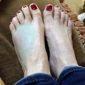 Valerie Bertinelli Feet