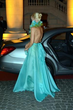 Gala Fundaci n Austral El exuberante vestido de Valeria Mazza