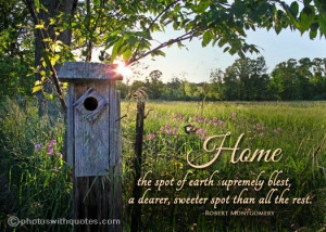 Quote about Home