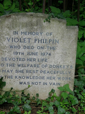 Funny Tombstone - The Welfare Of Donkeys.