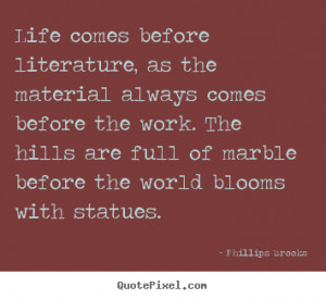 Famous Literary Quotes About Life