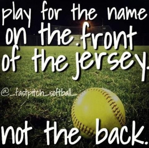 baseball and softball dating quotes | Latrobe Fastpitch Softball ...