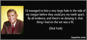 More Dick York Quotes