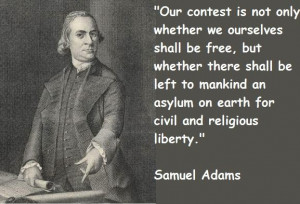 Samuel Adams Sons Of Liberty Quotes Samuel adams famous quotes 6