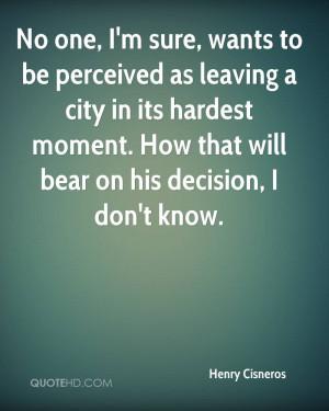 Henry Cisneros Quotes